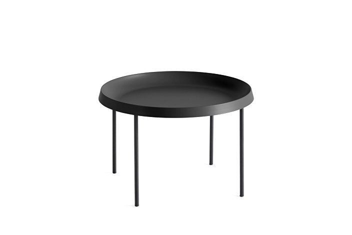 930501_Tulou Coffee table_dia55xH35_Black