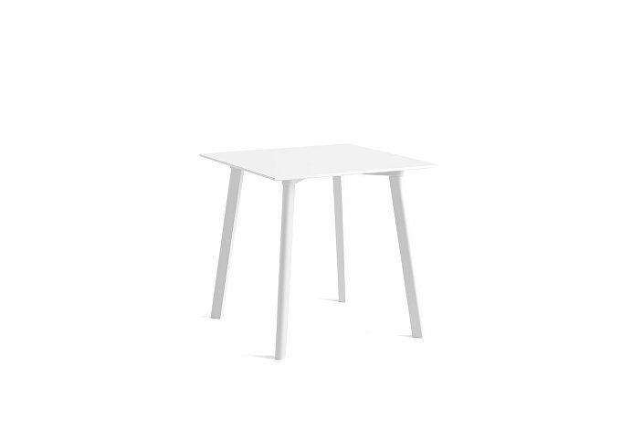 8090511009000_CPH Deux 210 Table_L75xW75xH73 Pearl white plywood edge base_Pearl white laminate