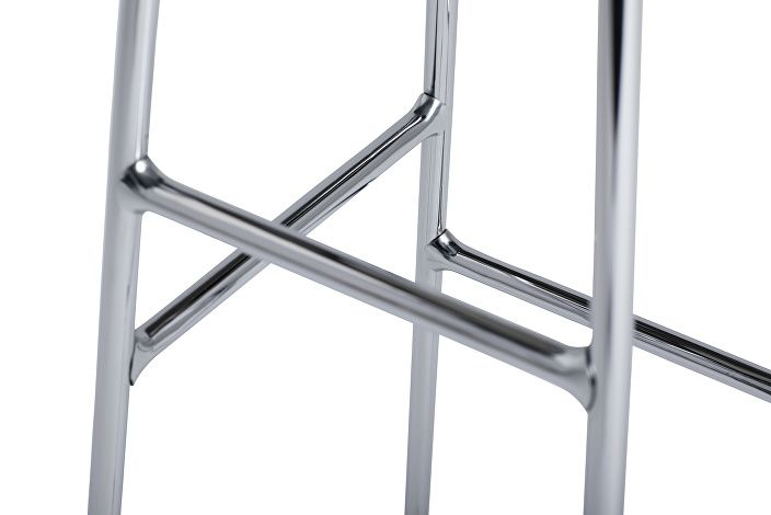 9303151509000_Cornet Barstool_H75_Base chromed Steel_Seat Solid oak_Detail