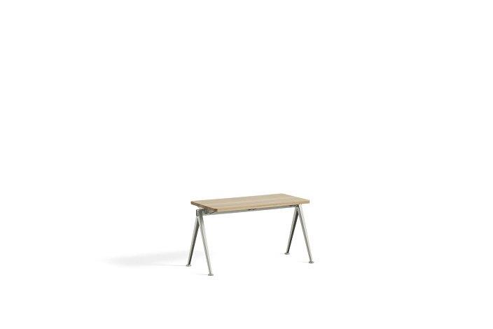 1955531509000_Pyramid Bench 11_L85xW40_Frame beige_Top oak matt lacquered