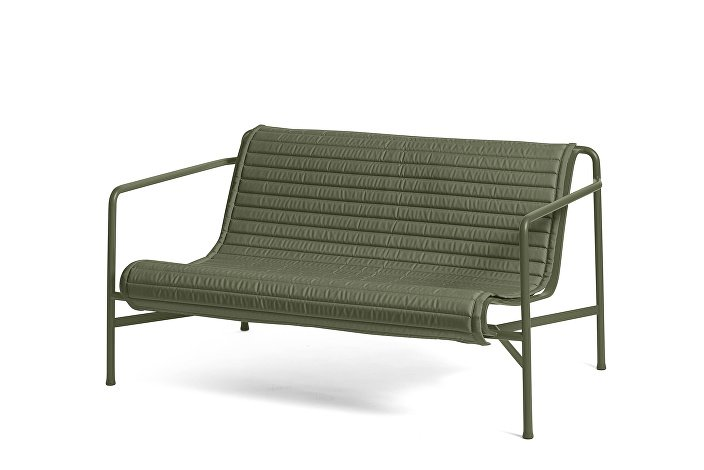 Palissade Lounge Sofa olive_Quilted Cushion Olive