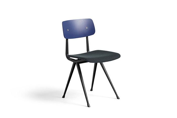 1973311104478_Result Chair_black base_dark blue stained oak back w. seat uph Steelcut Trio 796