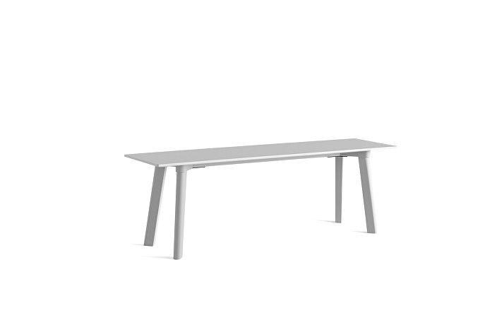 8091511009000_CPH Deux 215 Bench_L140xW35xH45_Dusty grey plywood edge base_Dusty grey laminate