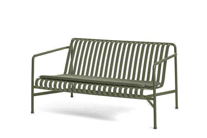 Palissade Lounge Sofa olive_Seat Cushion Olive