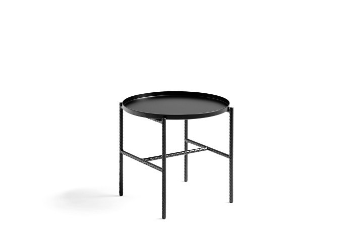 930201_Rebar Round Side Table_dia45xH40,5_soft black frame