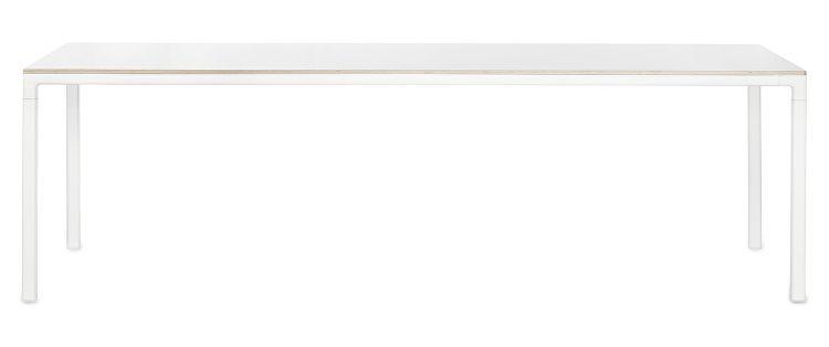 1023203509000_T12 Table_L250xW1220xH74_Frame white_Tabletop white laminate_WB