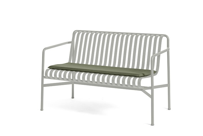 Palissade Dining Bench Sky Grey_Seat Cushion Olive