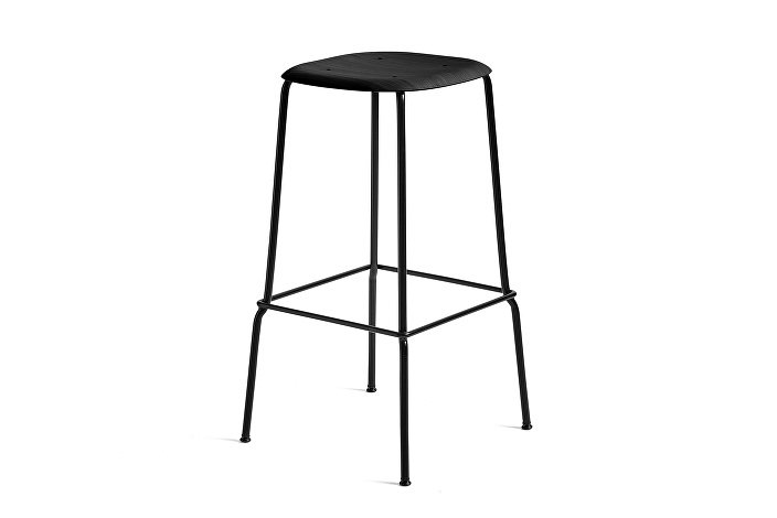 1991411159000_Soft Edge 30 Bar Stool high_H75_Base black_Seat oak black stained
